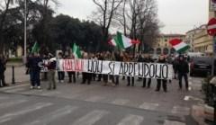 La protesta dei Forconi a Prato