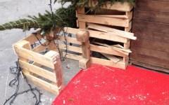 Arezzo: rubato l'albero di Natale in piazza