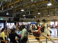 Passeggeri all'aeroporto di Firenze