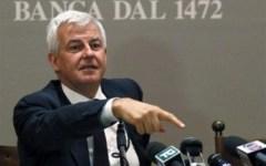 Mps, Profumo: «Senza aumento di capitale la banca sparisce da Siena»