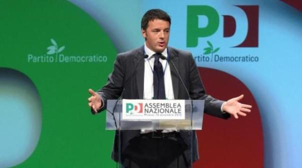 Renzi all'attacco all'Assemblea nazionale Pd
