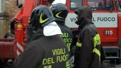 Super lavoro per i vigili del fuoco di Livorno a causa del vento forte