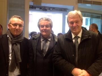 Gianluca Bertini, Francesco Bosio e Paolo Regini