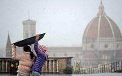 Allerta meteo in Toscana, pioggia e rischio frane