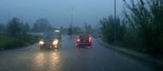 Pioggia torrenziale in provincia di Lucca