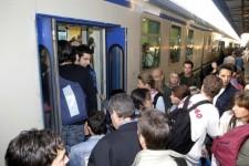 Disagi sui treni dei pendolari