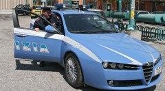 Intervento della Volante di Polizia