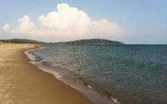 La spiaggia della Feniglia, nel comune di Orbetello