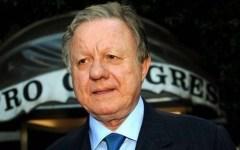 Malore per l'ex ministro Altero Matteoli: si sente male in barca, ricoverato a Grosseto