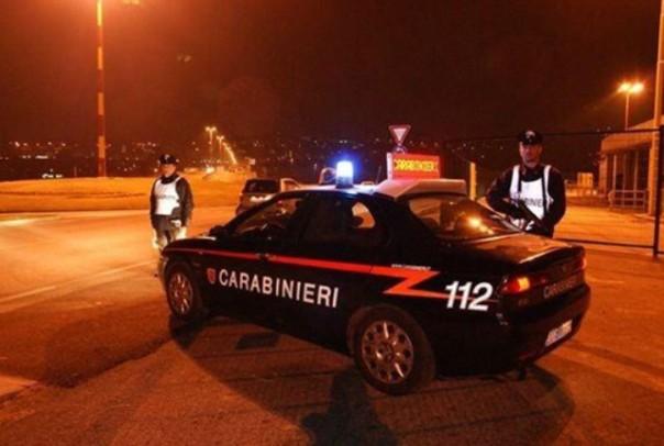 I carabinieri hanno arrestato un marocchino che non si è fermato ad un posto di blocco
