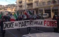 Firenze, corteo per le foibe. E contromanifestazione