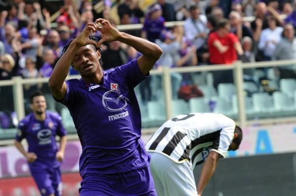 Quella contro il Torino potrebbe essere l'ultima di Cuadrado in maglia viola