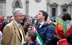 Pasqua, lo scoppio del Carro e i presagi di Matteo Renzi