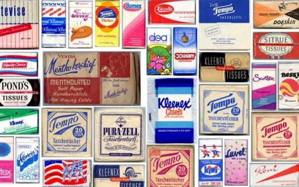 80 anni nelle nostre tasche. La storia e l'evoluzione del fazzoletto di carta