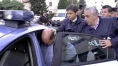 L'arresto di Riccardo Viti stamani a Firenze