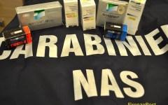 Firenze: maxisequestro di anabolizzanti da parte dei Carabinieri del Nas. Erano destinati al mercato del body building