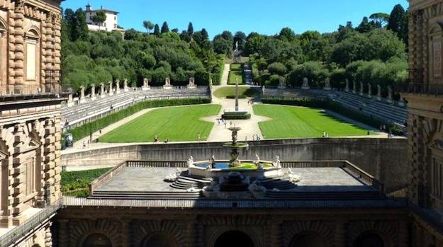 Firenze chiuso oggi 2 agosto il giardino di boboli danni alla sala del podest del bargello - Giardino di boboli firenze ...