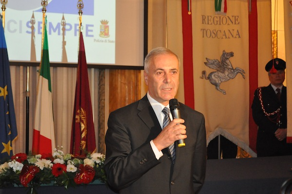 Il questore di Firenze, Raffaele Micillo