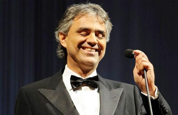 Andrea Bocelli: la sua vita diventa un film