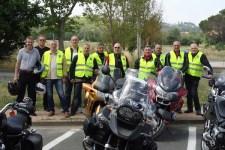 Il Gruppo Motociclisti della sezione Anps di Firenze