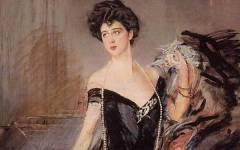 Firenze, in mostra a palazzo Pitti «Il manto di corte di Donna Franca Florio»