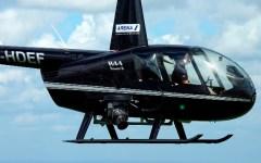 Prato, elicottero precipita mentre atterra: salvo il pilota