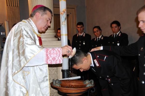 L'arcivescovo Marcianò battezza il maresciallo Chen Yi