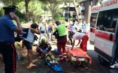 Grosseto, grave un bimbo di Firenze travolto in bici da un capriolo