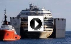 Dove si trova adesso la Costa Concordia? Segui in diretta la rotta verso Genova
