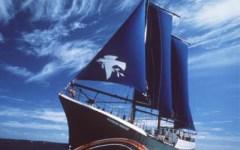 Concordia, Greenpeace contro Renzi: la Rainbow Warrior è arrivata al Giglio