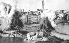 Ponti distrutti a Firenze nel 1944: una serata per ricordare