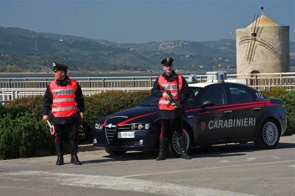 L'uomo è stato denunciato dai Carabinieri di Albinia