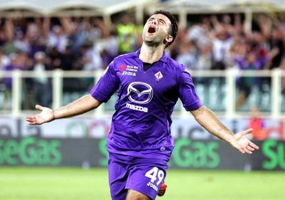 Giuseppe Rossi torna a giocare al Franchi dal primo minuto