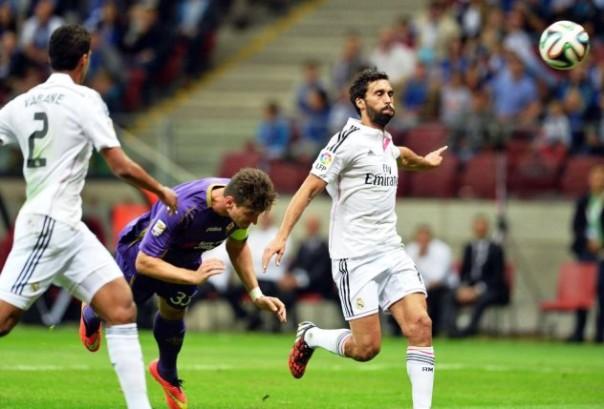 Real Madrid - Fiorentina, il gol di Mario Gomez