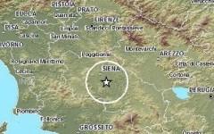 Terremoto, nuova scossa nella provincia di Siena
