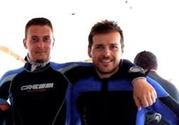 Sub Gianluca Trevani ed Enrico Cioli