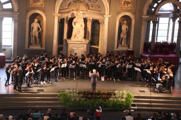 La Rete Toscana Flauti in concerto a Palazzo Vecchio