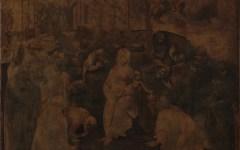 Firenze: ecco l'Adorazione dei Magi di Leonardo dopo la prima parte del restauro
