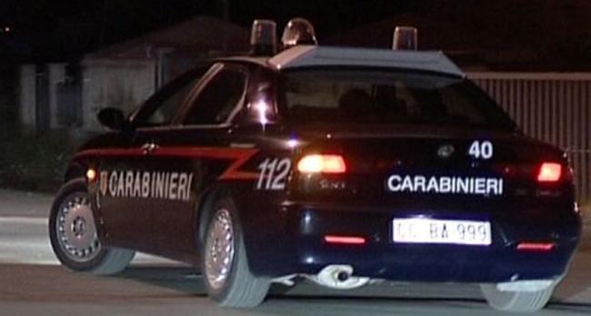 Una gazzella dei carabinieri
