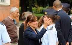 Firenze: primo giorno alla Scuola Militare Douhet tra emozioni e sfide (FOTO)