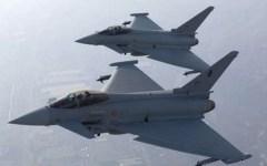 Aeronautica militare: partiti da Grosseto gli Eurofighter per partecipare a Red Flag 2016