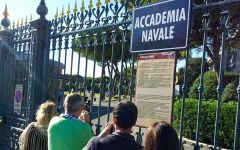Livorno, primo giorno per 100 nuovi cadetti all'Accademia Navale (Foto)