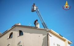 Stabbia dopo il nubifragio: 2000 edifici danneggiati, ancora 400 interventi nella lista dei Vigili del Fuoco