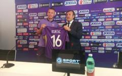 Fiorentina: Kurtic vuole giocare contro il Genoa: «Quando ho visto la maglia viola mi sono messo a piangere»