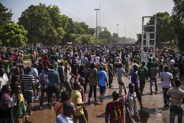 La rivolta di piazza a Ouagadougou capitale del Burkina Faso