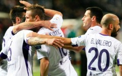 Europa league: la Fiorentina vince a Salonicco (0-1) e domina il girone K. Gol di Vargas. Pagelle