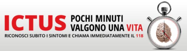 L'immagine simbolo della campagna regionale di prevenzione dell'ictus