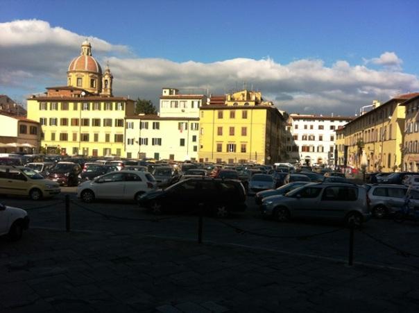 Piazza del Carmine a Firenze