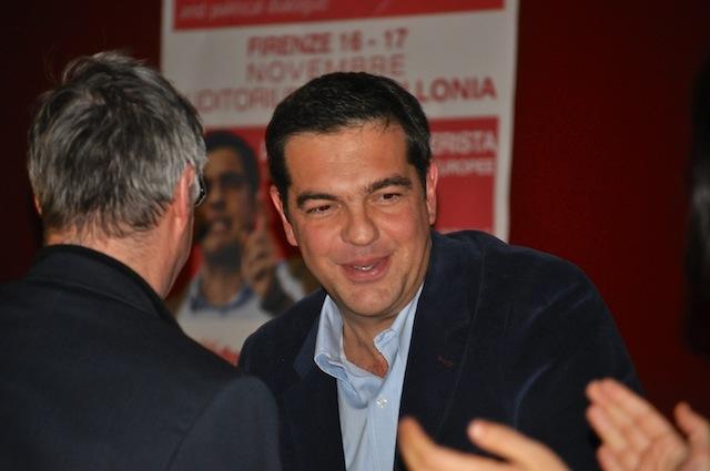 Alexis Tsipras, premier greco
