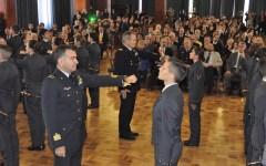 Firenze, Scuola Militare Douhet: consegnato lo «spadino» ai nuovi giovanissimi allievi  (FOTO)